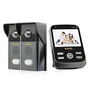 kivos® kdb303 trådløs visuell ringeklokke hjem ringeklokke fjernkontroll kamera telefonsamtale