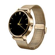 tanie Inteligentne zegarki-Inteligentny zegarek na iOS / Android Wodoszczelny Czasomierz / Stoper / Rejestrator aktywności fizycznej / Rejestrator snu / Pulsometr / Odbieranie bez użycia rąk / Obsługa multimediów