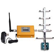 abordables -antenne répéteur Yagi d'affichage gsm980 lcd mini-gsm 900MHz de signal de téléphone mobile de signal booster 900MHz avec 10m de câble