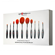 cheap Discount Makeup-10pcs Professional Makeup Brushes Makeup Brush Set Artificial Fibre Brush / Synthetic Hair Professional / Full Coverage Plastic Eye / 1 *