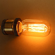T45 40W E27 vintage Edison pærer glødepærer (AC220-240V)