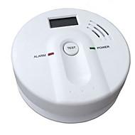 alarme de monóxido de carbono com alarme 85 db e display de cristal líquido e padrão de alarme en5029