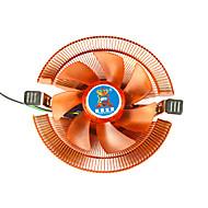 área de trabalho de cobre a8 amd 775 1155 1156 multi-plataforma do ventilador cpu