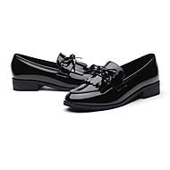 Χαμηλού Κόστους Μοκασίνια με φούντες-Γυναικεία Παπούτσια Καοτσούκ Άνοιξη / Φθινόπωρο Ανατομικό Μοκασίνια & Ευκολόφορετα Επίπεδο Τακούνι Μαύρο