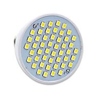 billige Spotlys med LED-gu10 gx5.3 led spotlight mr16 48 smd 2835 300lm varm hvit kald hvit 2700-6500k dekorativ ac 220-240v