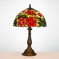 billige Lamper-Tiffany Traditionel / Klassisk Bue Skrivebordslampe Til Harpiks 110-120V 220-240V