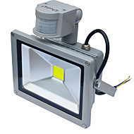 cheap Outdoor Lighting-Jiawen Waterproof 20W 1800LM  PIR Motion Sensor LED Flood Light Induction Lamp (AC85-265V)
