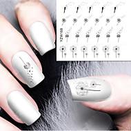 diy ontwerper water transfer nagels art sticker / nail water stickers / nail stickers accessoires