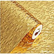 אחיד 3D טפט עבור בית עכשווי וול כיסוי , PVC/Vinyl חוֹמֶר דבק נדרש טפט , Wallcovering חדר