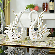 Animaux Céramique Moderne/Contemporain / Traditionnel / Bureau / Affaires Intérieur Accessoires décoratifs