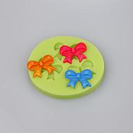 Bestselger bueformer chocolate diy kake dekorasjon silikon mold farge tilfeldig