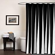 モダン ポリ/コットンブレンド 70x72inch  -  高品質 シャワー用カーテン