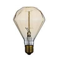 e27 40w g95 diamante fio reto 220v edison lâmpada, uma lâmpada de lâmpada grande lo lo bar