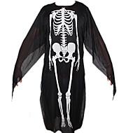 halloween dragen gedrukte skelet kostuums volwassen ghost kledingstukken skelet voor kind&partij decoratie volwassen plus size