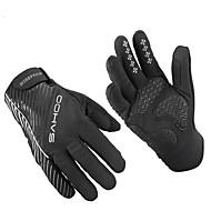 levne Cyklistické rukavice-Akvitita a sport Dotykové rukavice Cyklistické rukavice Zahřívací Nositelný Odolný proti opotřebení Anti-skluzování Ochranný