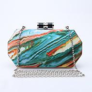 お買い得  バッグ-女性用 バッグ PU イブニングバッグ のために 結婚式 / イベント/パーティー / フォーマル ブルー / グリーン / オレンジ