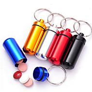 Porta-Chaves Brinquedos Porta-Chaves Multifunções Forma Cilindrica Metal Alumínio Alta qualidade Peças Natal Aniversário Dia da Criança