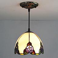 billige Takbelysning og vifter-25W Anheng Lys ,  Traditionel / Klassisk / Tiffany Maleri Trekk for Mini Stil Metall Soverom / Inngang