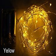 billige Bestelgere-zdm vanntett 3m 30 led 3aa batteri fairy streng lys firefly lys christmas decor christmas lights multi farge