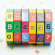 Magic Cube Sudoku Puzzle Math Toy Eco-friendly Plastic Classic Pieces Kid's Children's Boys' Girls' Toy Gift