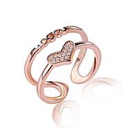 Feminino Anéis Grossos Anéis para Falanges Cristal Imitação de Diamante Multi-maneiras Wear bijuterias Sexy Crossover Moda Ajustável