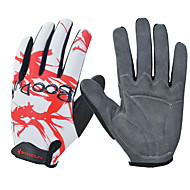 cheap Cycling Gloves-Sports Gloves Keep Warm Waterproof Quick Dry Wearable Breathable Wearproof Anti-skidding Protective Full-finger Gloves Spandex Silicone