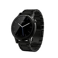 billiga Smart klocka Tillbehör-Klockarmband för Moto 360 Motorola Klassiskt spänne Rostfritt stål Handledsrem