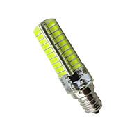 billige Kornpærer med LED-4stk 420lm E12 LED-kornpærer Tube 80 LED perler SMD 5730 Dekorativ Varm hvit Kjølig hvit 85-265V 110-130V