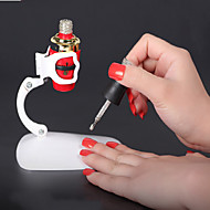 körömgél palacktartó köröm rögzített bilincs kéz nélküli női art design eszköz