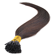 16-24 Inch Prebonded I tip Keratin Hair Extensions Straight Natural Hair Multiple Color 50g/Pack Virgin Indian Remy Hair Extensions