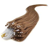 """20"""" louro cinzas (# 24) 100s micro laço do cabelo humano extensões"""