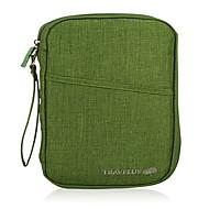 旅行用ウォレット パスポート&IDホルダー 携帯用 防塵 小物収納用バッグ のために 携帯用 防塵 小物収納用バッグ グレー パープル レッド グリーン ダークグレイ