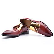Χαμηλού Κόστους Rose Golden Sneakers-Αντρικό Παπούτσια Δερμάτινο Φθινόπωρο Ανατομικό Τυπική παπούτσια Μοκασίνια & Ευκολόφορετα Κορδόνια για Πάρτι & Βραδινή Έξοδος Μαύρο Καφέ