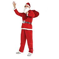 1pc jul tøj 5 stykker af ikke vævede tøj til voksne til at udføre kostumer santa claus tøj rekvisitter