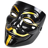 cosplay masker v voor vendetta masker anoniem film man fawkes halloween maskerade cosplay masker feest kostuum prop