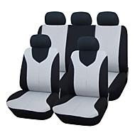 autoyouth universel pasform til bil lastbil suv eller van polyester autostol dækning fuld sat fuld sædebetræk 2 farver