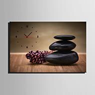Rectângular Moderno/Contemporâneo Relógio de parede , Outros Tela35x50cm(14inchx20inch)x1pcs/40x60cm(16inchx24inch)x1pcs/