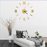 コンテンポラリー オフィス ハウス型 家族 学校/卒業 友達 壁時計,ノベルティ柄 アクリル ガラス 40 屋内 クロック