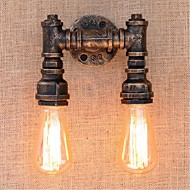ac 220v-240v 40W E27 bg820-2 nostalgi simpel vand pipe dekorative lille væglampe væglampe
