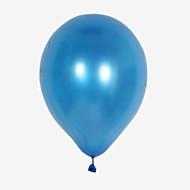 Bolas Balões Brinquedos Inflável Festa Estilo Pérola Grossa Circular Látex 100 Peças Ano Novo Aniversário Dom