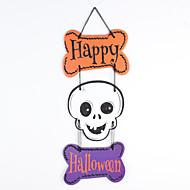 billige -1stk Halloween Fantom Skallen Gresskar Tre Henge Ornamenter