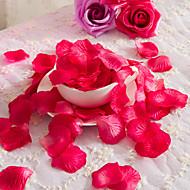 1 Gren Polyester Roser Bordblomst Kunstige blomster 1.5