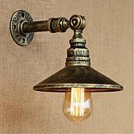 AC 220V-240V 40w e27 estilo industrial tubulação de água nordic luz de parede lâmpada de parede