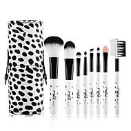 billige MSQ®-8stk Make-up pensler Professionel Brush Sets Nylon Børste Bærbar / Rejse / Øko Venlig Træ Mellem Børste / Lille Børste