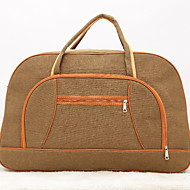 Unisex Bags Canvas Travel Bag for Casual Outdoor Red Green Blue Khaki