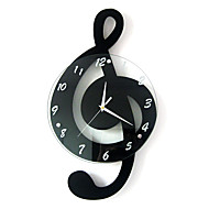 cheap Wall Clocks-Modern/Contemporary Houses Wall ClockOthers Metal / Wood 29*52cm Indoor Clock