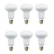 billige Globepærer med LED-6W E14 LED-globepærer R50 10 SMD 5630 210-240 lm Varm hvit / Kjølig hvit Dekorativ V 6 stk.