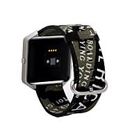 billiga Smart klocka Tillbehör-Klockarmband för Fitbit Blaze Fitbit Sportband Tyg Handledsrem