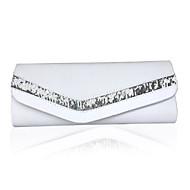 お買い得  クラッチバッグ&イブニングバッグ-女性用 バッグ シルク クラッチ スパンコール ブラック / ベージュ / アメジスト