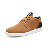 tanie Obuwie męskie-Męskie Buty Derma Wiosna Jesień garbić buty Comfort Oksfordki Szurowane na Casual Dark Blue Gray Light Brown